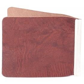 Зажим для купюр Premier-Z-1    (зажим-скрепка)    натуральная кожа коричн.темный игуана   (84)