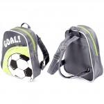 Рюкзак детский Silver Top-1040 Кроха прост спинка/Coal,    серый/зеленый,    мяч