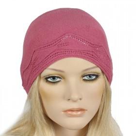 Шапка женская Tella-Бети    (одинарная) ,    Шерсть-30%;    Акрил-70%,    розовый SALE