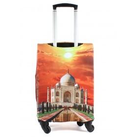 """Чехол для чемодана 24-M""""     (24""""  -70л) ,    полиэстер 100%,       (Мечеть)    оранжевый"""