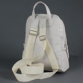 """Сумка женская искусственная кожа M.Bag-""""  Ладога""""     (рюкзак) ,    1отд,    2внут карм,    светло-бежевый"""
