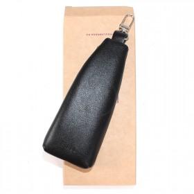 Ключница натуральная кожа «Estet»-KL.6.MN,    черный
