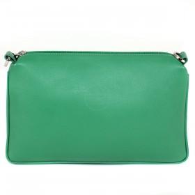 Сумка женская натуральная кожа «Every day»-S.124.FP.зеленый,    1отд,    плечевой ремень