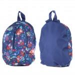 Рюкзак детский TL-РД-02,    прост спинка,    2отд,    1внеш карм,    совы на синем