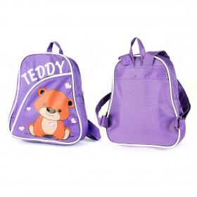 Рюкзак детский Silver Top-1040 Кроха прост спинка/Teddy,    фиолетовый,    медведь