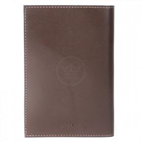 Обложка для паспорта натуральная кожа O.1.FV.коричневый