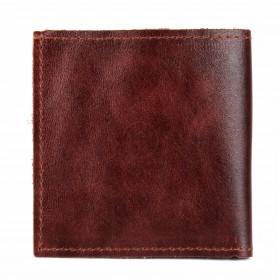 Портмоне мужское Premier-М-55 натуральная кожа 1 отд,    2 карм,    коричневый тем пулл-ап   (152)