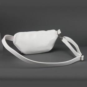 Сумка женская искусственная кожа ADEL-150/2в/ММ   (поясная) ,    1отд,    ремень/пояс,    белый