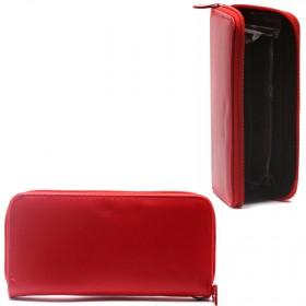 Кошелек женский искусственная кожа 000-5,    на 1 молнию,    4отд,    13карм,    ручка/петля,    красный