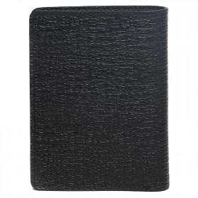 Портмоне мужское натуральная кожа PM.76.BA.,    1отд,    6карм,    черный