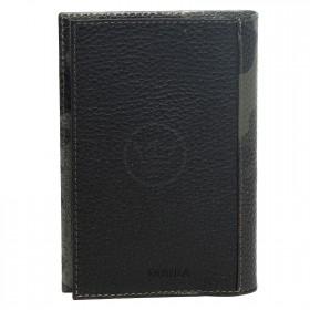 Обложка для паспорта натуральная кожа O.95.LR.хаки