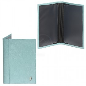 Обложка для паспорта натуральная кожа O.97.TR.голубой