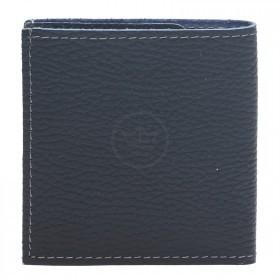 Портмоне мужское Premier-М-55 натуральная кожа 1 отд,    2 карм,    синий тем флотер   (351)
