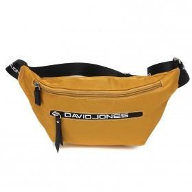 Сумка женская текстиль DJ-5962-1-YELOW,   поясная 1отд,    2внут+1внеш/карм,    желтый