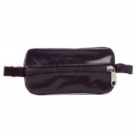 Футляр для ключей-FNX-КЛВ-104 натуральная кожа фиолетовый лак шик   (3034)