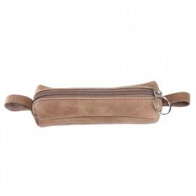 Футляр для ключей-FNX-КЛБ-100 натуральная кожа коричневый св медисон   (4550)