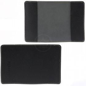 Обложка для паспорта FNX-УП-084 натуральная кожа черный флотер   (221)