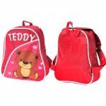 Рюкзак детский Silver Top-1040 Кроха прост спинка/Teddy,    розовый,    медведь