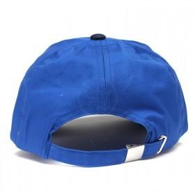 Бейсболка А-45 6 кл.,   металлическая застежка,   синий+т.синий.    (S)