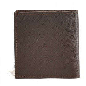 Портмоне мужское Premier-М-55 натуральная кожа 1 отд,    2 карм,    коричнево-серый сафьян   (555)
